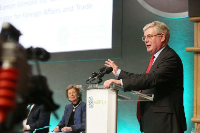 HNCJ Day 2 - Eamon Gilmore closing speech