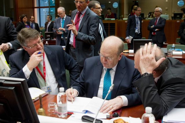 Meeting of Ecofin Council, Brussels 1