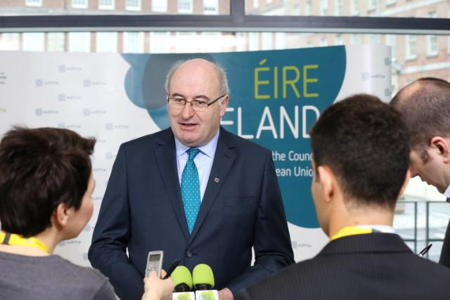 20130422 ENVI Arrivals Phil Hogan