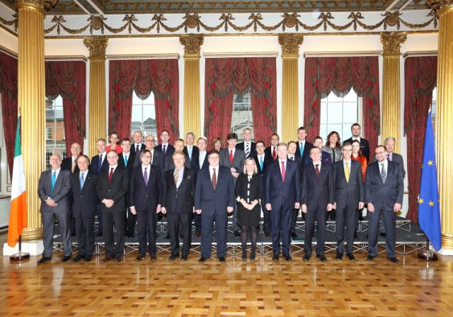 20130121 EU Affairs Informal Family Photo