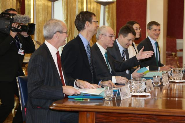 20130109 Visit of the European Council President Van Rompuy