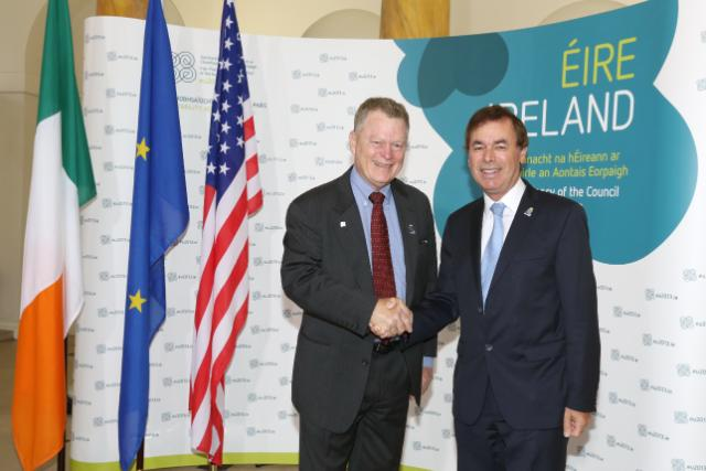 20130614 EU-US JHA Bilateral - Alan Shatter and Rand Beers