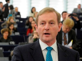 Taoiseach at EP July mobile
