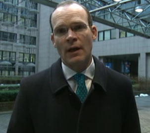 Agrifish Council Brussels - Simon Coveney Doorstep